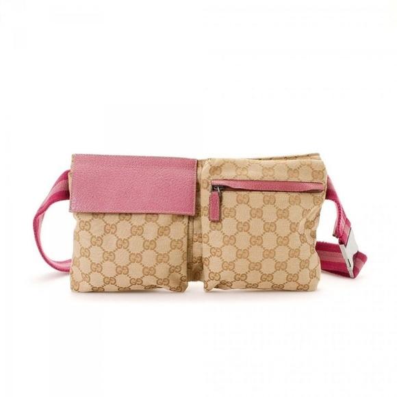 792432f57e86 GUCCI Bags | Monogram Gg Waist Pouch Fanny Pack 867209 | Poshmark